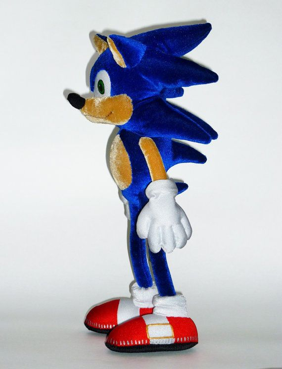 Sonic Hedgehog Toy By Sinceremasterpieces On Etsy 45 00 Hedgehog Sonic Sonic The Hedgehog