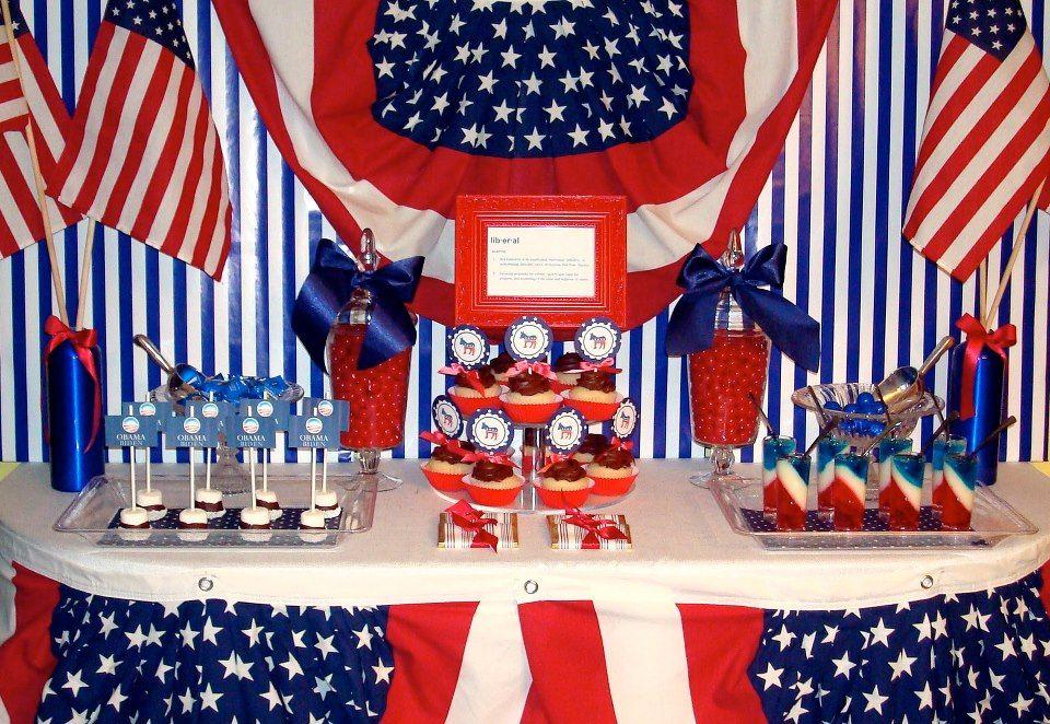 Election Night Dessert Buffet