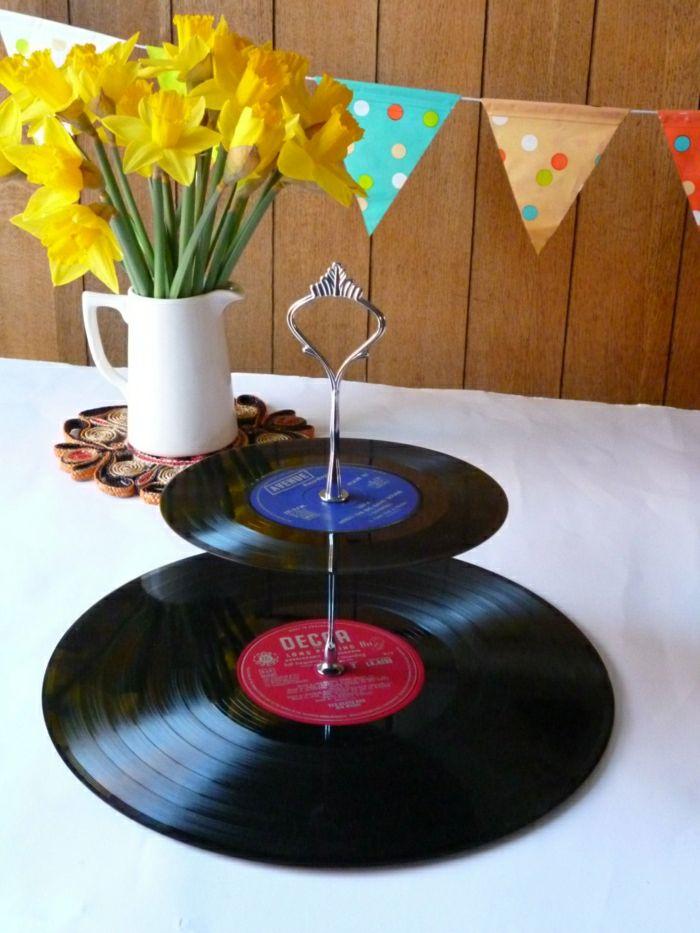 Originelle Diy Ideen Mit Schallplatten Pinterest