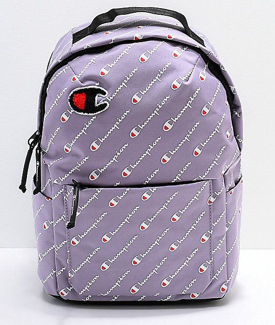 Champion Supercize Smoked Lilac Mini Backpack in 2019  e2ce70a36a296