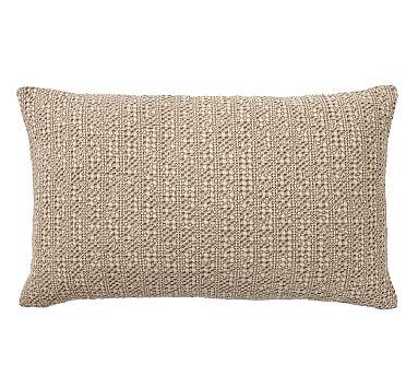Honeycomb Lumbar Pillow Cover 16 X 26 Quot Driftwood