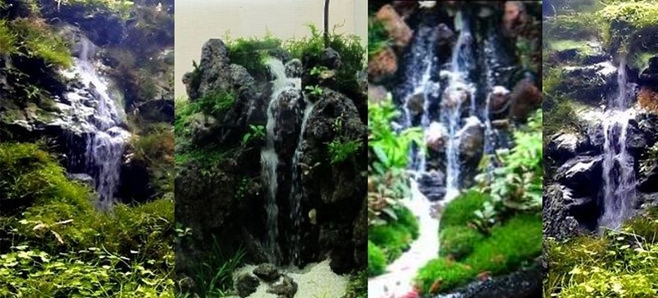 Aquarium sand waterfall creating sand waterfall by alon for Waterfall fish tank