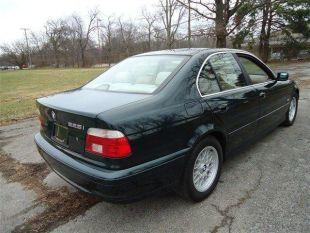 2001 BMW 525 Oxford Green