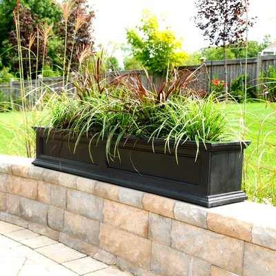 Demonte Self Watering Plastic Window Box Planter | Joss & Main