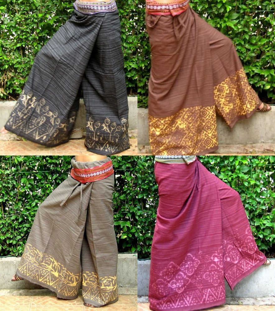 Thai fisherman pants my style pinterest maternity yoga thai pants thai fisherman pants wrap pantsyogatravelmassagebatik fb a in clothing shoes accessories womens clothing pants ombrellifo Choice Image