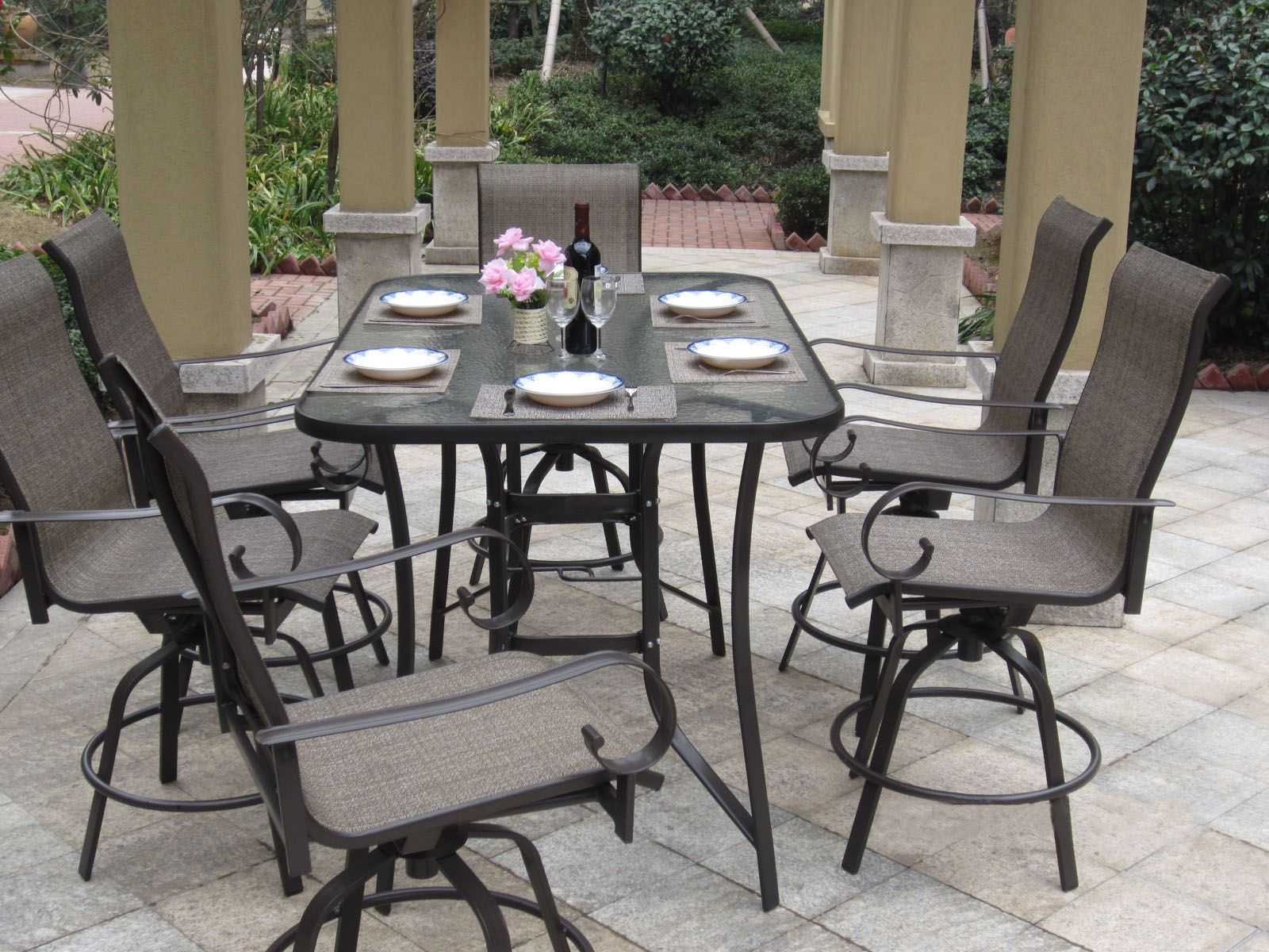 Patio Bar Dining Sets 3 Bar Height Patio Dining Sets to Enjoy
