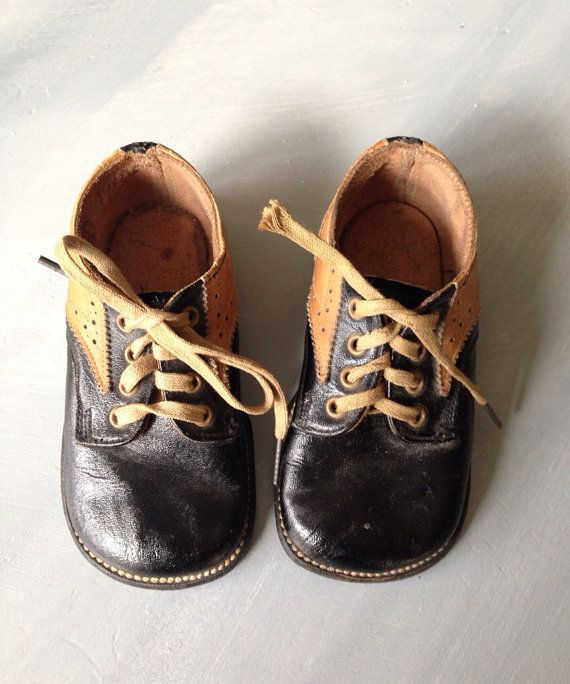 45c75755ee1a7 Vintage Baby Shoes | Skyway Blvd Vintage | Baby shoes, Shoes, Baby ...