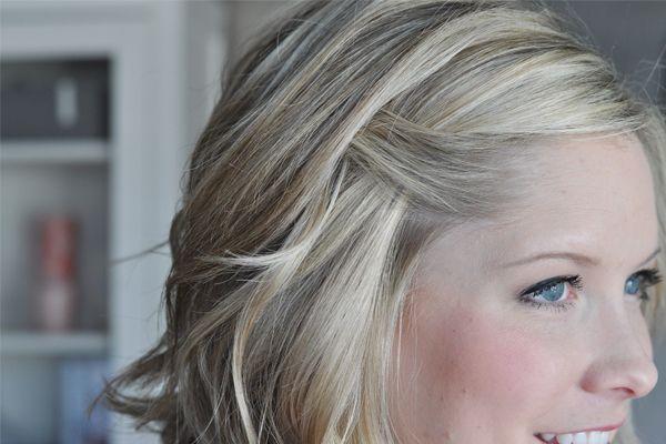 Fold Over Bang Twist My Style Hair Hair Styles Bangs