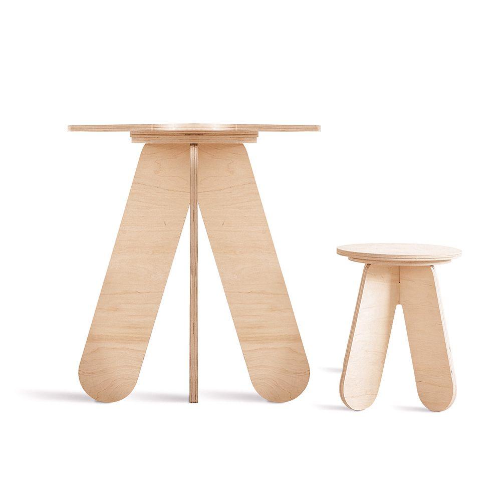 Kerek fa gyerek asztal in 2020 Decor, Home decor, Furniture