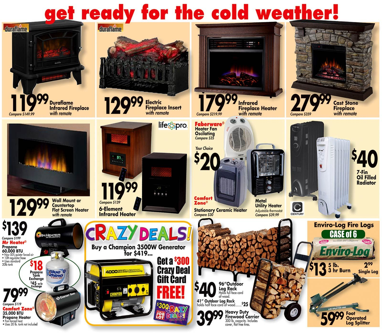 Weekly Flyer Ocean State Job Lot Fireplaces New Flyer