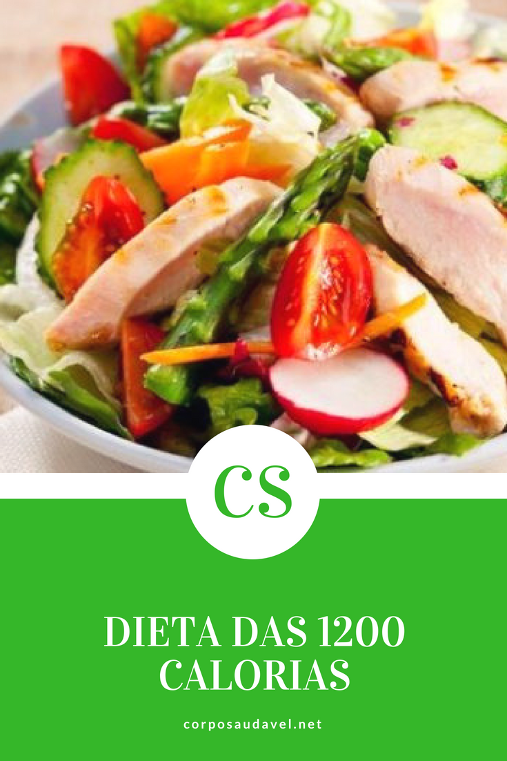 Dieta 1200 Calorias- Como Funciona E Cardápio Completo..