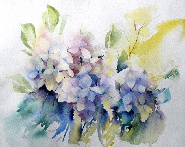 Epingle Par Christiane Couillard Sur Aquarelle De Fleurs Photos