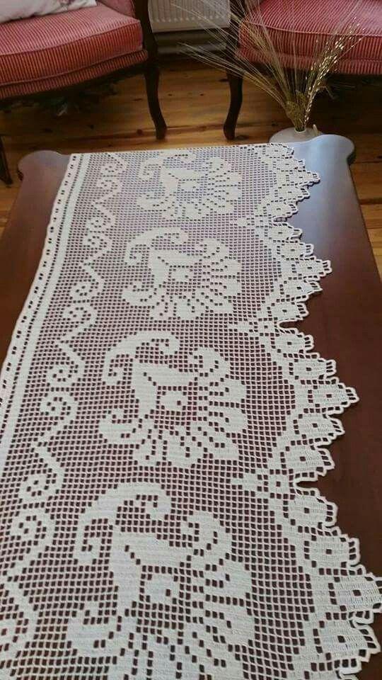 pin von sevgiyetis auf dantel pinterest gardinen. Black Bedroom Furniture Sets. Home Design Ideas