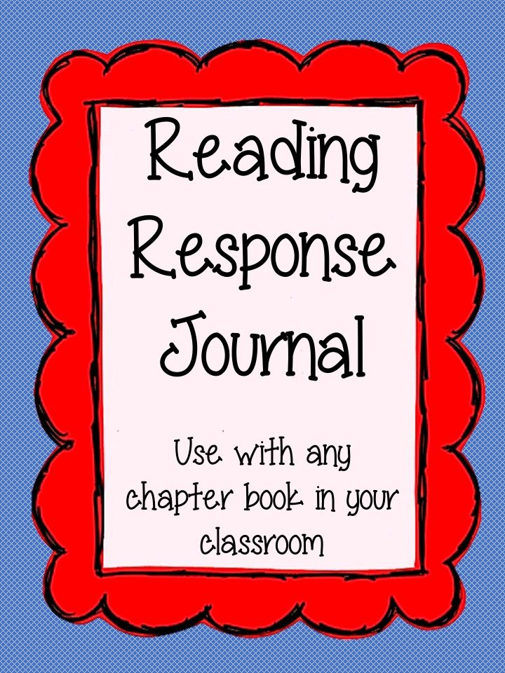 Perfect reading journal to hold your students accountable while they are reading independently! This journal can be use all year long with any chapter book. $