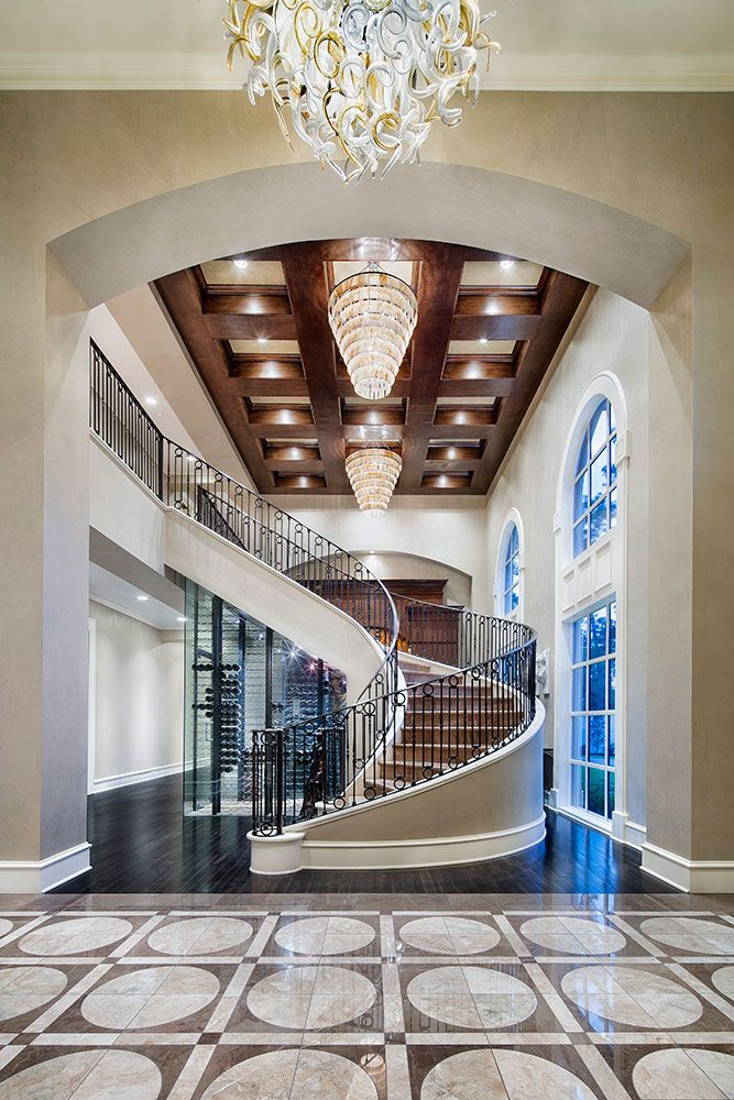 Best 18 Palatial Mediterranean Staircase Designs That Redefine 400 x 300