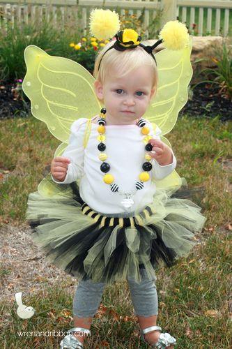 Tutu Cute Bumble Bee Halloween costume -- handmade by Wren and - halloween costume ideas cute