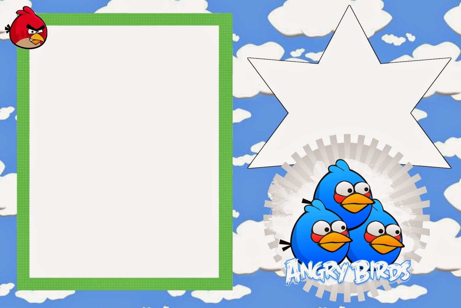 freeprintableangrybirdswithcloudskit008jpg 1600 1068 – Angry Birds Party Invitations