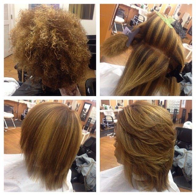 Natural hair texture. Curly/kinky hair. Highlights. Healthy hair