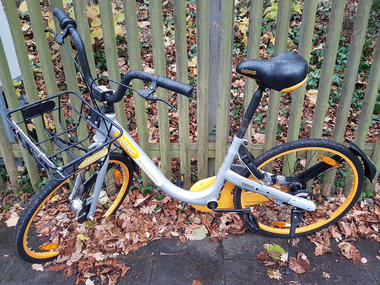 Obikes Bike Sharing Mein Erfahrungsbericht Aus Munchen Munchen E Mobility