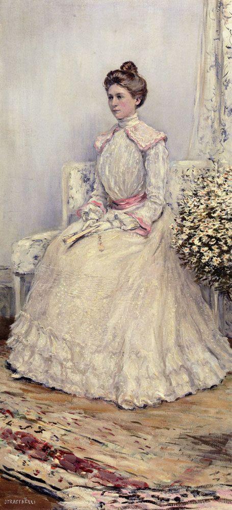 The Wedding Portrait by Jean Francois Raffaelli