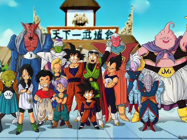 Dragon Ball Z Gok y los mejores personajes de la serie de Akira