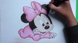 Resultado De Imagen Para Dibujos De Mickey Mouse A Lapiz Con Color Dibujos De Mickey Mouse Dibujo De Minnie Mickey