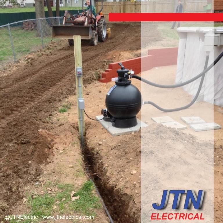 Above ground pool wiring in Windsor locks, Connecticut by