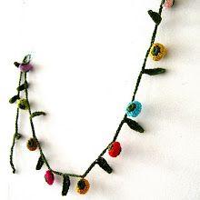DIY crochet garland