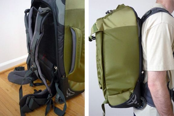 Osprey Sojourn   Meridan: Wheeled Backpack Review | Spot Cool ...