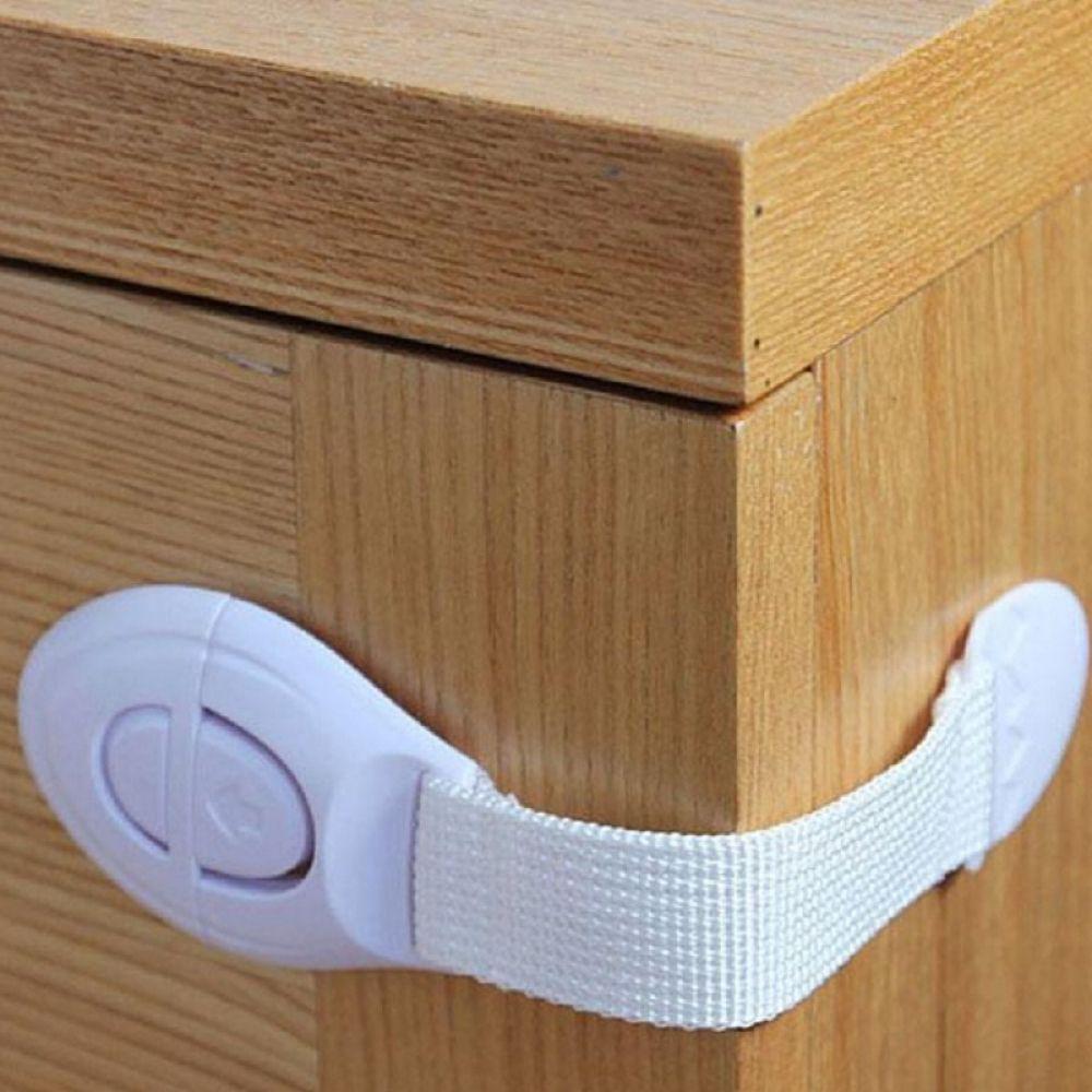 10pcs Door Drawer CabInet Safety Locks For Child Kids Baby AD