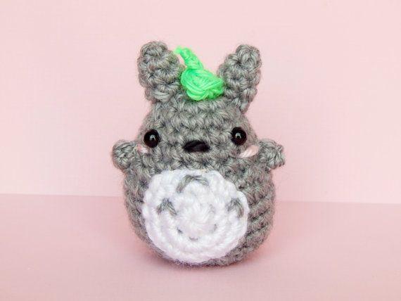 Amigurumi Totoro : Totoro plush mini totoro amigurumi totoro totoro keychain
