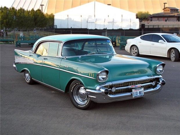 Surf Green Classic Car Chevrolet Bel Air Classic Cars 57 Chevy Bel Air