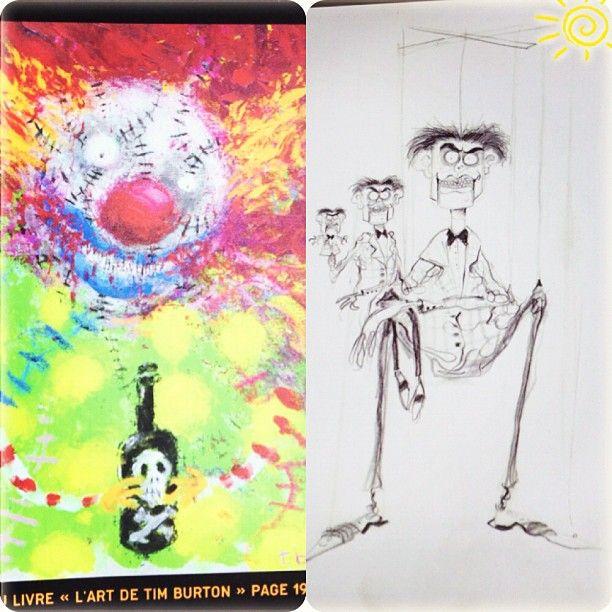 Exposition Tim Burton #timburton #cinemathequefrançaise #exposition - @Elodie Dreamiss- #webstagram
