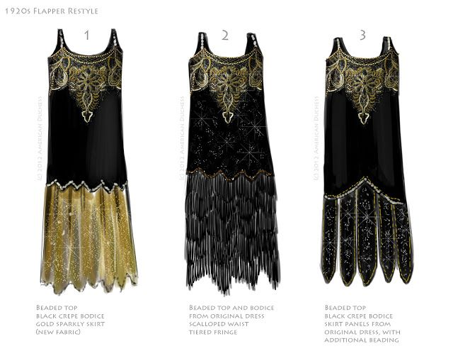 flappers dress pictures from 1920s | V39: 1920s Beaded ...