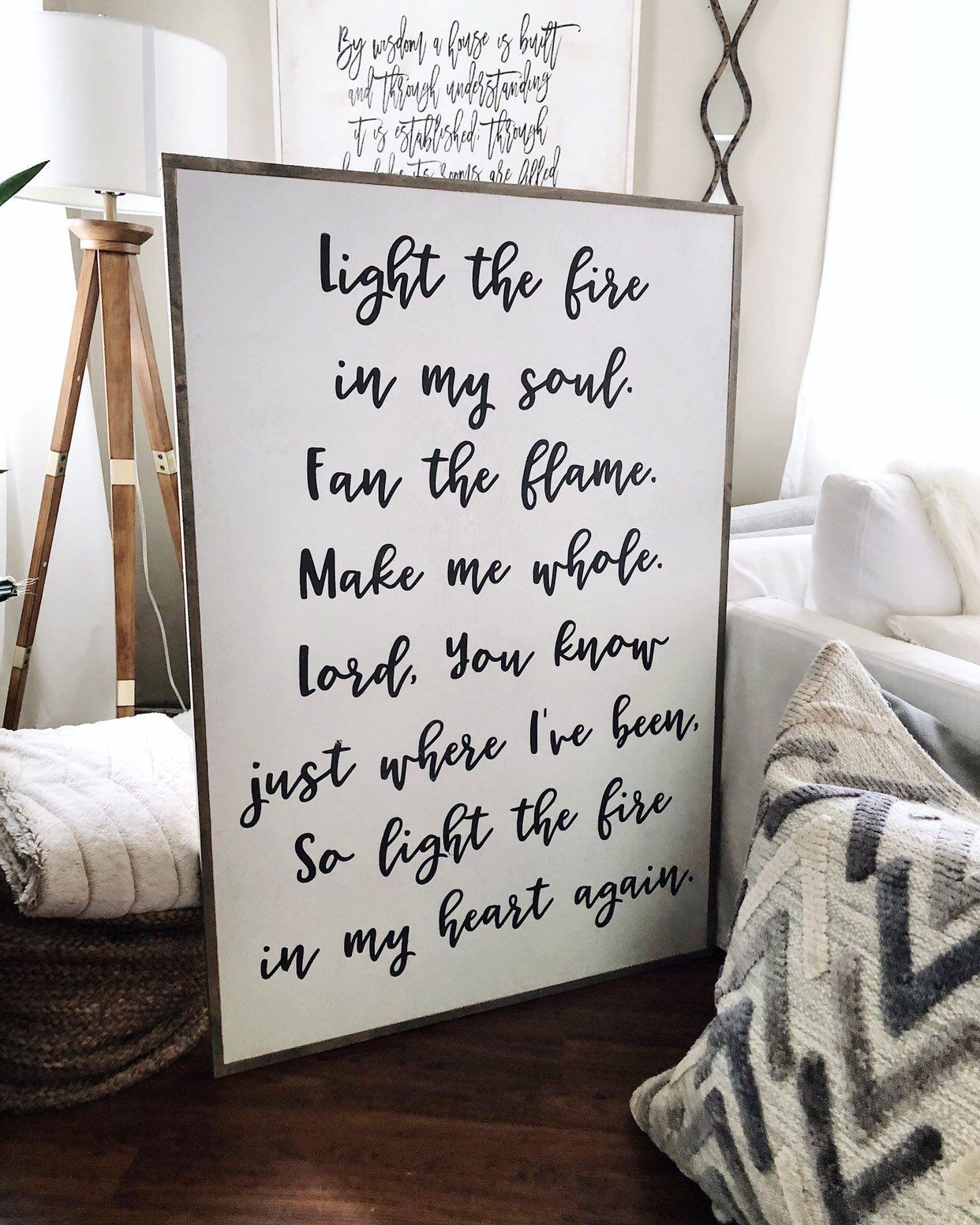 Large Wall Art Signs Home Decor Hanging