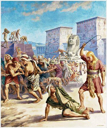 Israel Enslaved Bible Pictures Biblical Art Egypt