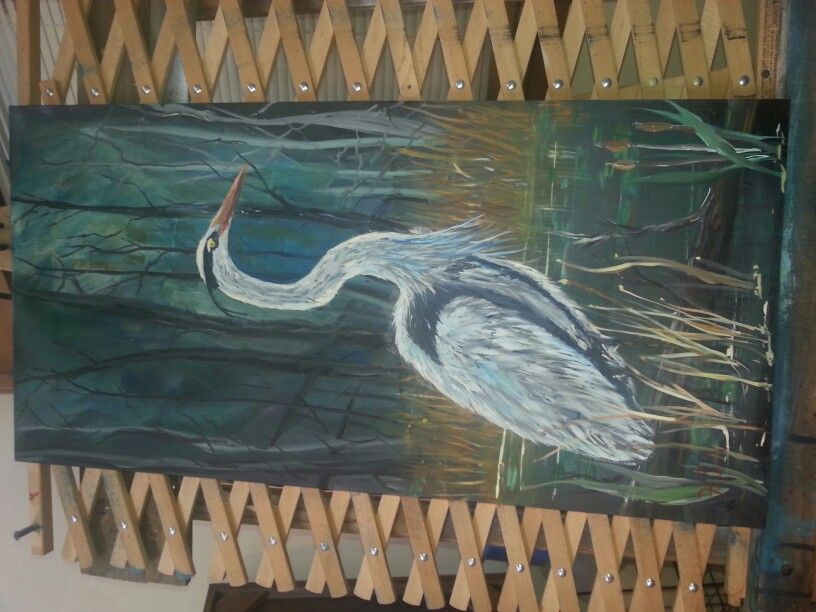 West fork  heron