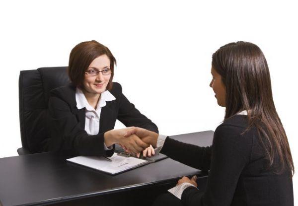 собеседование на работу девушек