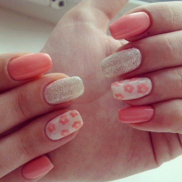 Nail Art #1525 - Best Nail Art Designs Gallery   Flower nail art ...