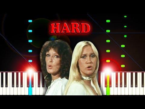 ABBA Mamma Mia Piano Tutorial (Hard Version) YouTube