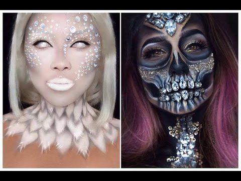 Top 15 Easy Halloween Makeup Tutorials Compilation 2016 - YouTube ...