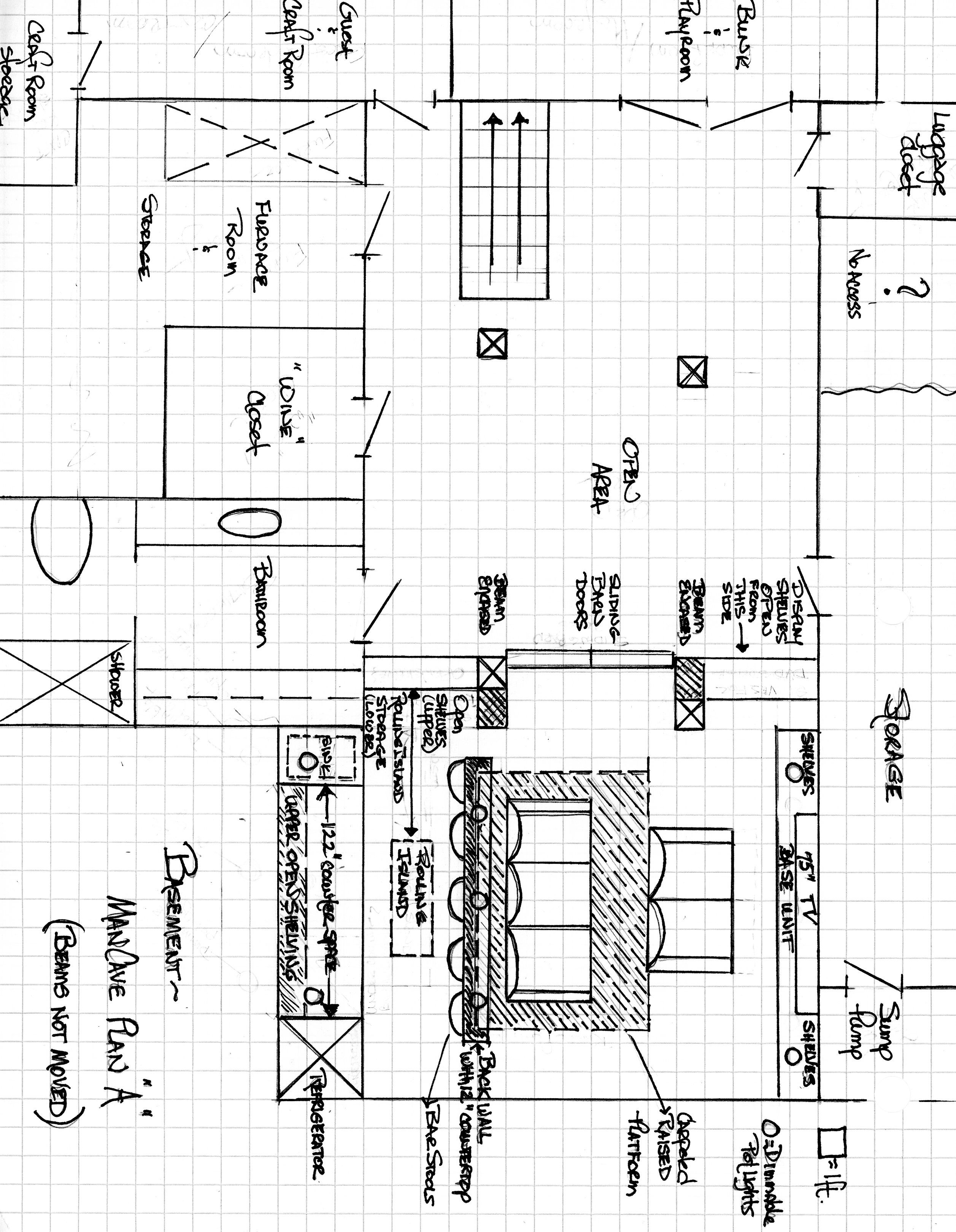 Stupendous Plan A Both Recliners Are Facing Tv Wall Possible Addition Creativecarmelina Interior Chair Design Creativecarmelinacom