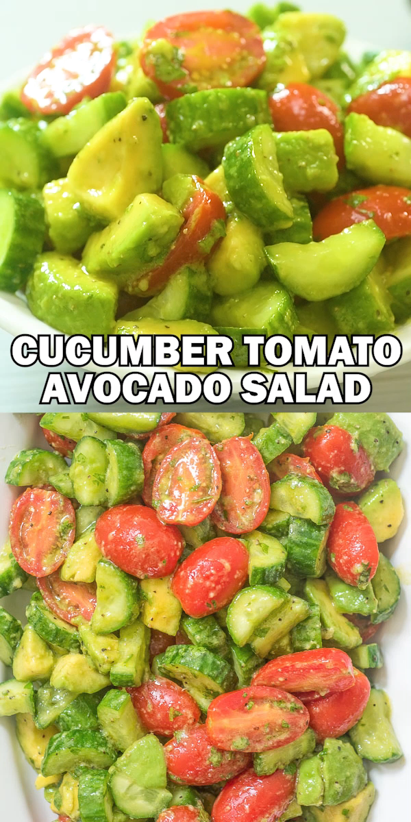 Cucumber Tomato Avocado images