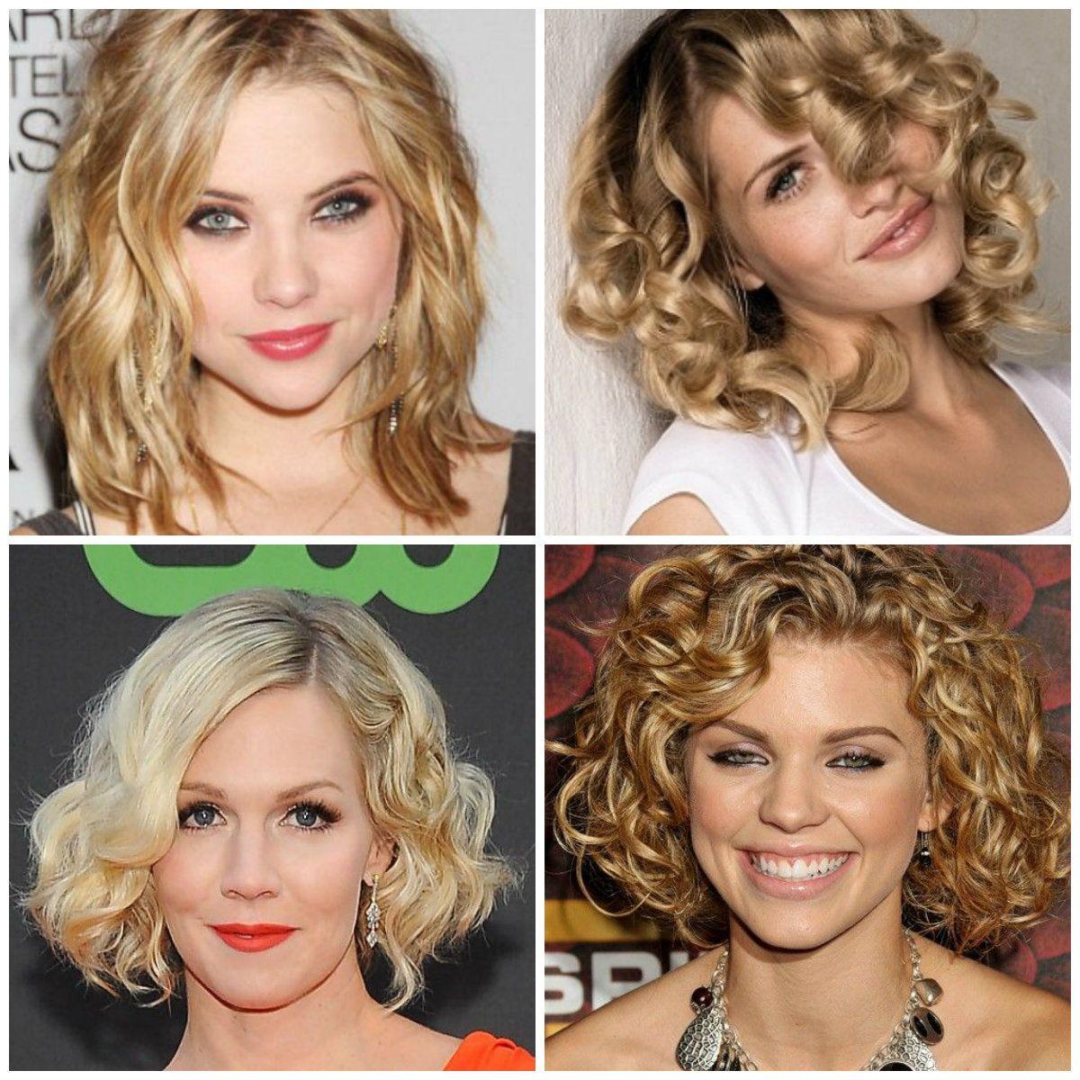Estremamente capelli media lunghezza ricci e mossi 2014 acconciature | Hair  MY57