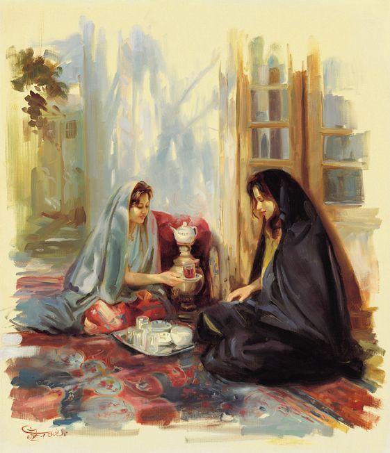 Simple Offering Muse Art Iranian Art Arabian Art