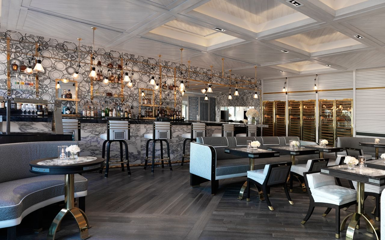 Scarpetta Fontainebleau Miami Beach Luxury Restaurant Interior Design