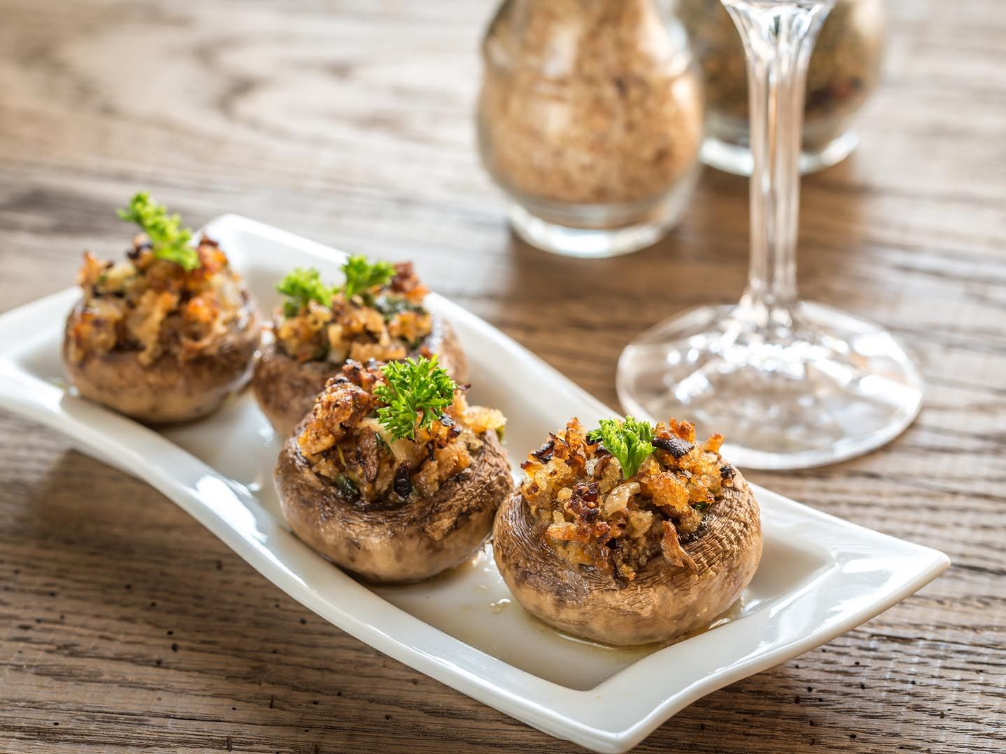 Stuffed Mushroom Caps with Couscous - Dr. Weil\'s Healthy Kitchen ...