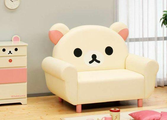 Super kawaii korilakkuma chair kawaii pinterest for Cama kawaii