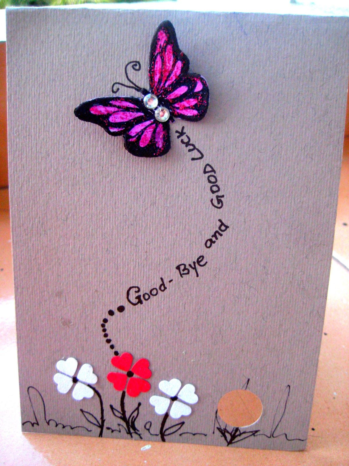 Well miss you card crafts galore pinterest cards card ideas pretty cards kristyandbryce Image collections