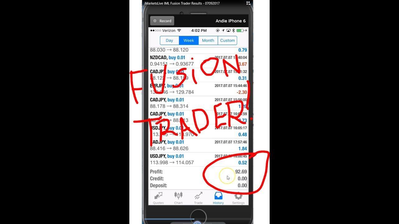 Imarketslive Iml Fusion Trader Results 100 Hands Free Hands